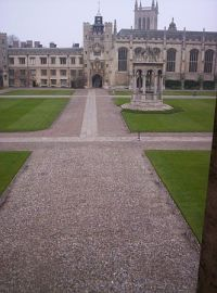 Trinity College Great Court